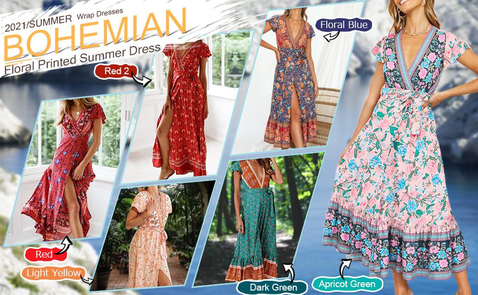 bohemian dresses for women boho clothing for women vintage dresses for women floral dresses women