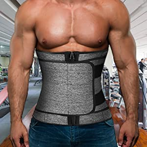 waist trainer with zipper
