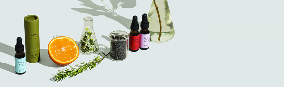 Energy, Passion, Sleep, Calm, essential oil