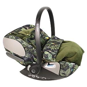 Sommerbezug Cybex Cloud Z Für Babyschale Grün Dschungel Perfekte Passform Biologische Baumwolle Schweißabsorbierend Und Weich Für Ihr Baby Baby