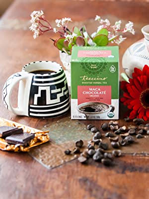 Maca Chocolate made with Peruvian Maca, the famed energizing root of the Incas & roasted Ramón seeds