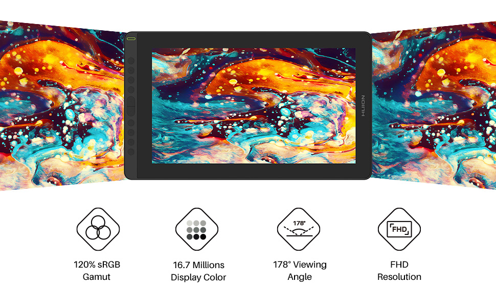 pen display, drawing tablet, full-laminated technology