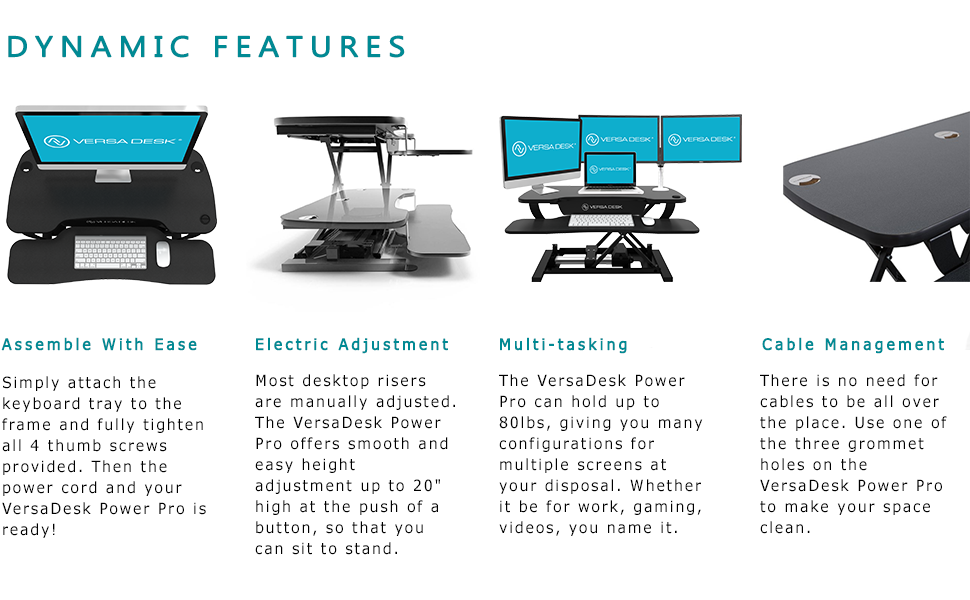 standing desk, standing desk converter, desk riser, electric desk riser