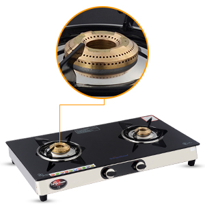 High Thermal Efficient Brass Burners