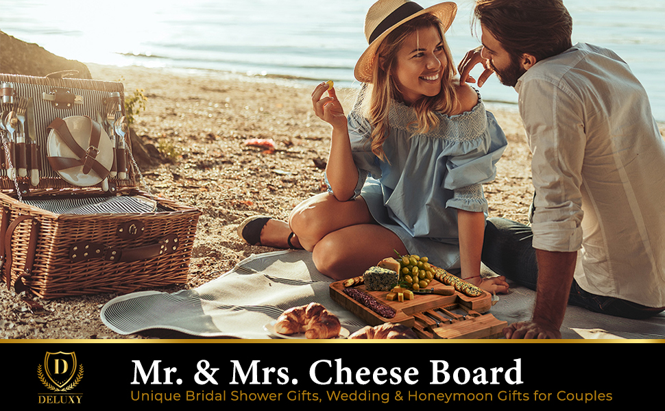mr and mrs cheeseboard bridal shower gifts wedding gifts for couples
