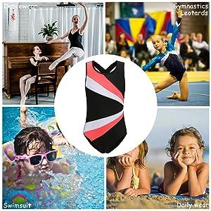 Stanpetix Gymnastics Leotards for Girls Dance Ballet Unitard Gymnastic Athletic Outfits Teens Kids