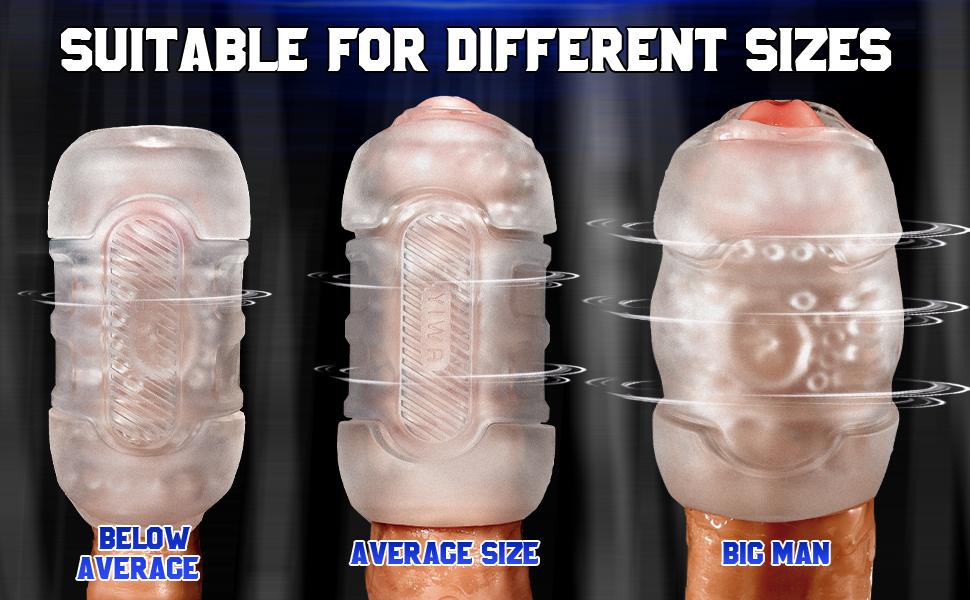 masturbator for all sizes