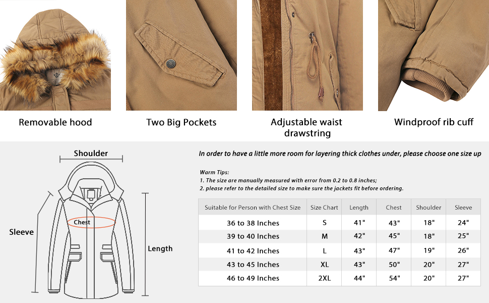 anorak jacket women ladys winter coat hooded jacket for women