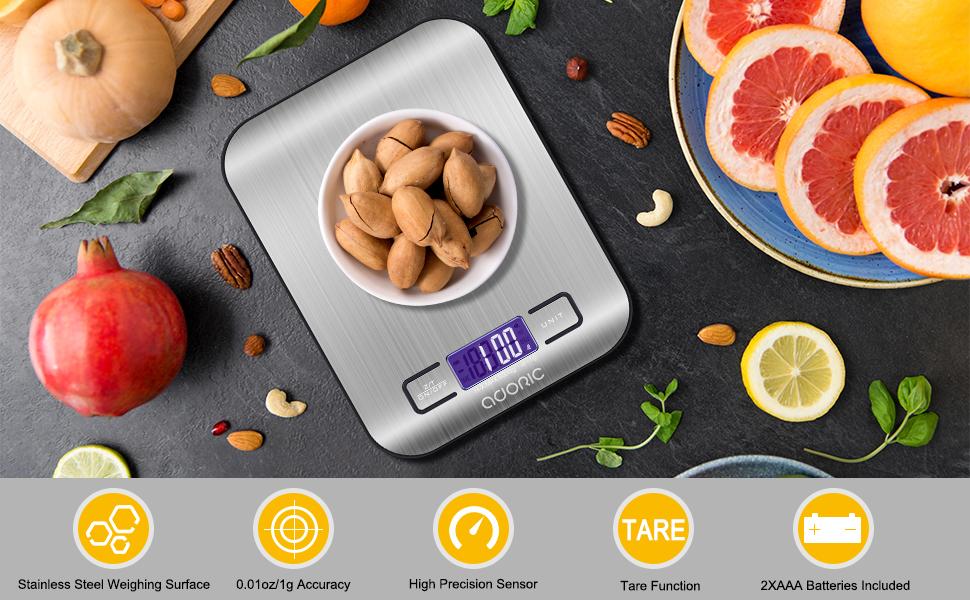 Adoric Digital Food Scale