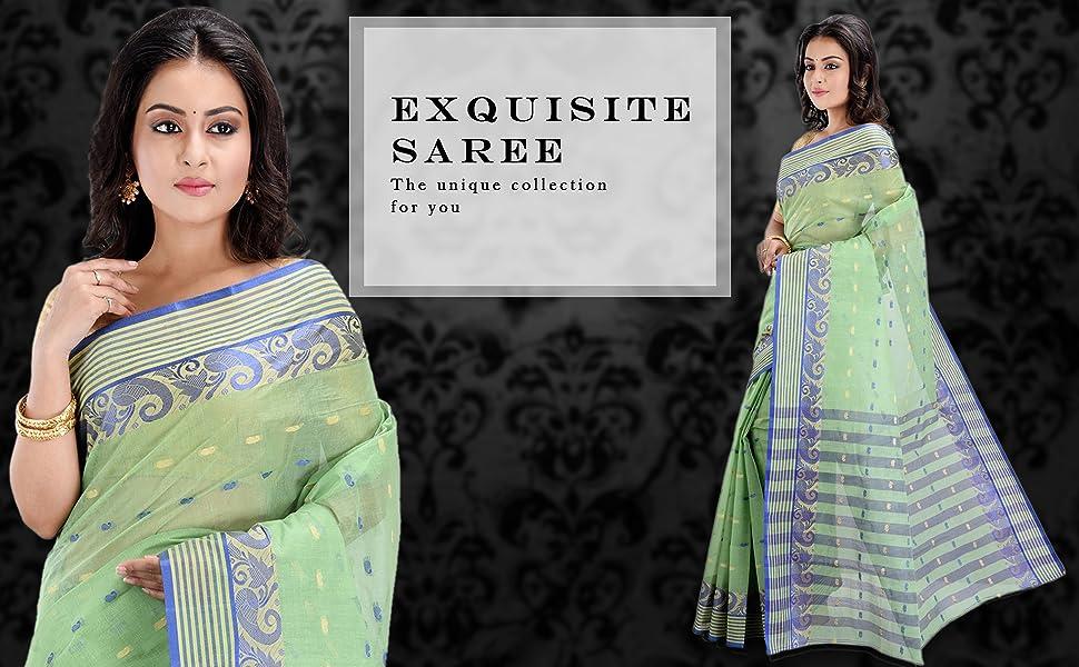 cotton bengali saree