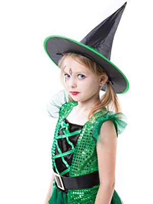 Dress Up Cosplay Witch for Little Girls