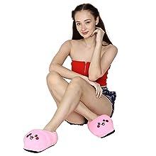 Cute Indoor Pikachu Plush Slipper shoes