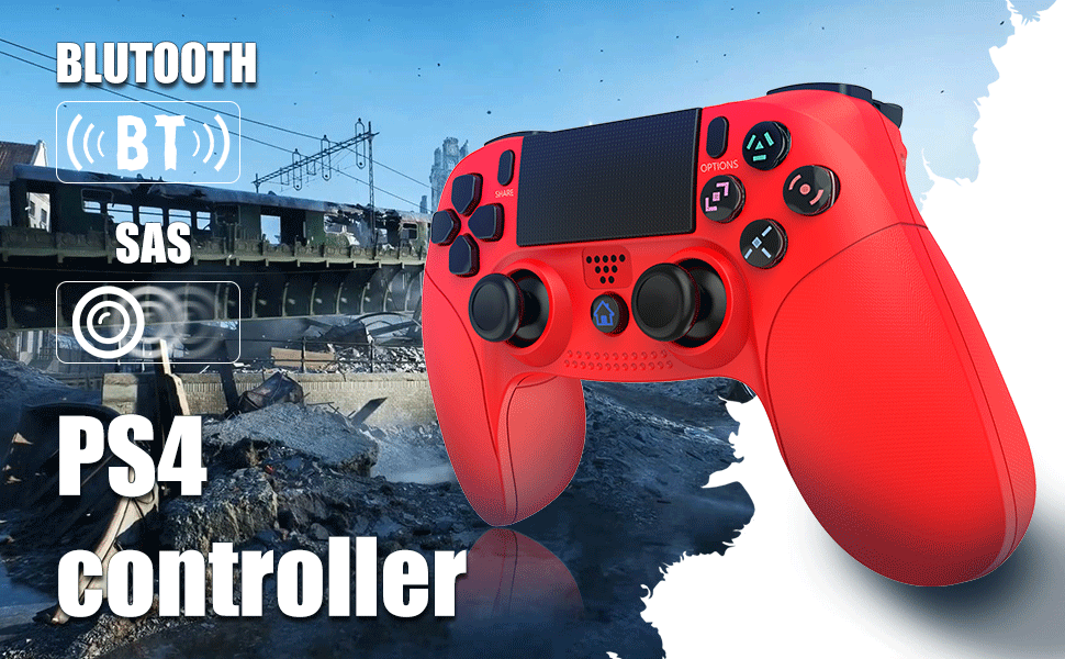 [PS4 Controller] A strong feeling of vibration and can easily support multiplayer games.