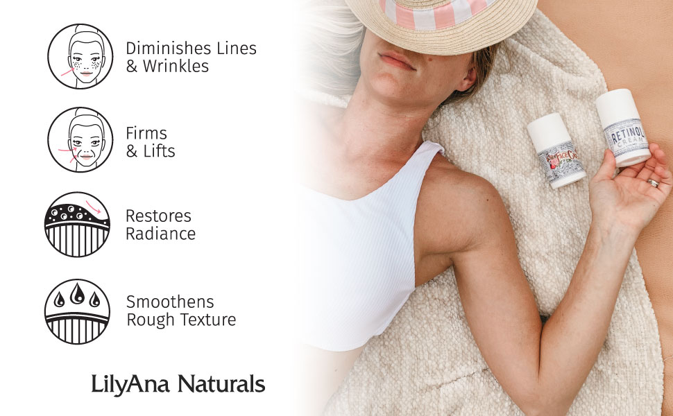 retinol cream moisterizer, no parabens, organic, natural