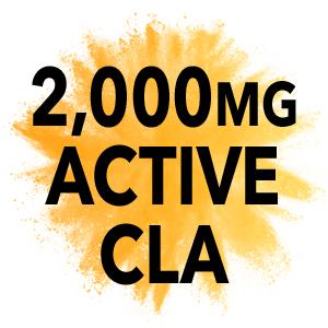 2000mg active cla capsules conjugated linoleic acid supplements non stimulant burners womens loss
