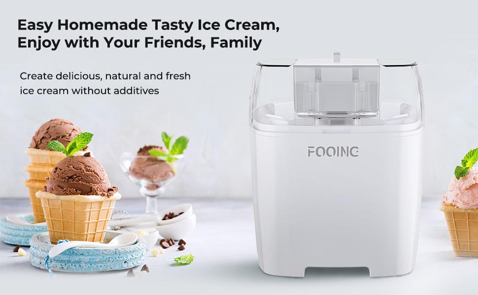 ice cream maker countertop