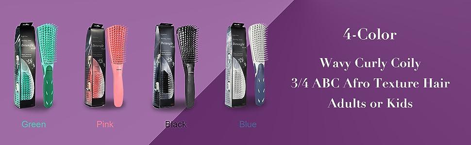 Detangling Brush for Curly Hair