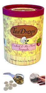 TeaDrops Liquid Orchid Bromeliad Tillandsia Organic Plant Food Fertilizer Worm Castings Tea Packets