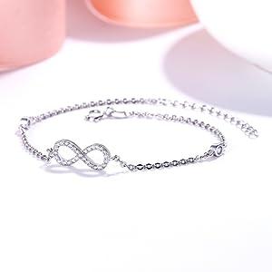 Infinity bracelet for girls