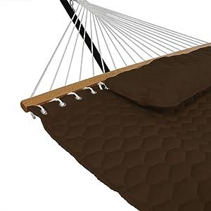 hammock corner and spreader bar