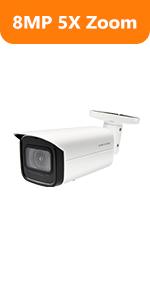 4k 8mp dahua ip camera bullet surveillance outdoor camera 5xoptical zoom security camera