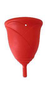 Copa Menstrual Sileu Cup Rose - Modelo de iniciación sencillo ...