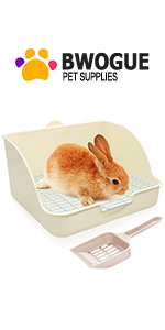 Rabbit Litter Box Toilet