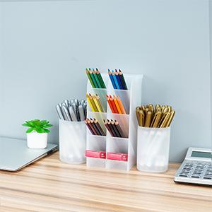 desktop stationary organizer