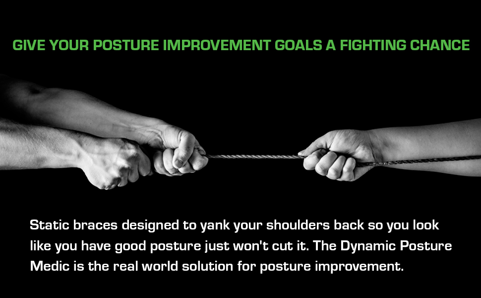 Give your Posture Improvement goals a fighting chance