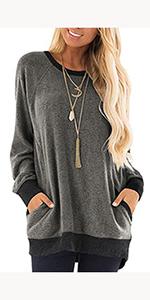 women fashion sweatshirt tops for women pullover sweatshirts