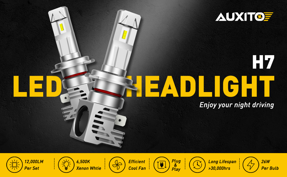 h7 led headlight bulbs