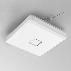 Onforu 24W LED Lámpara de Techo Cocina, CRI 90+ IP65 Impermeable 2100LM LED Plafón Cuadrado para Salón Dormitorio Baño Aseo Habitación Terraza ...