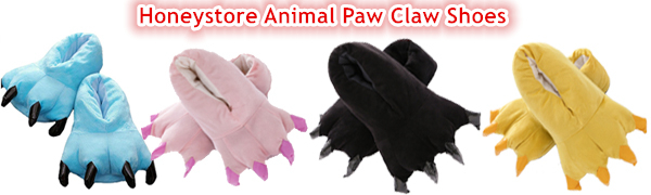Paw Claw Home Slippers