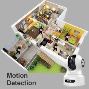 D3D 826 AI Smart IP Camera Motion Detection