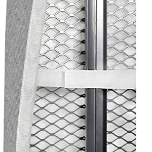 ironing board cover elastic edges hook and loop fasteners