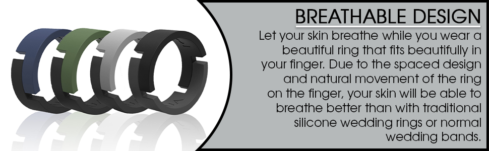 rubber men silicone wedding bands replacement flexible for men skin safe comfortable gifts mans