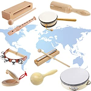 music set for kids percussion instruments
