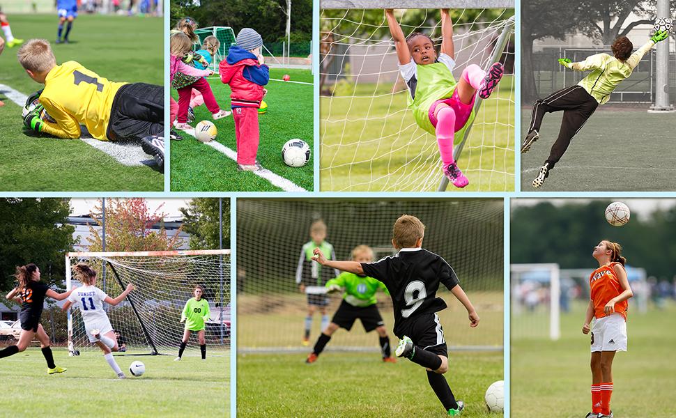 meteor Voetbal keeperhandschoenen - handschoenen voor kinderen jongens…