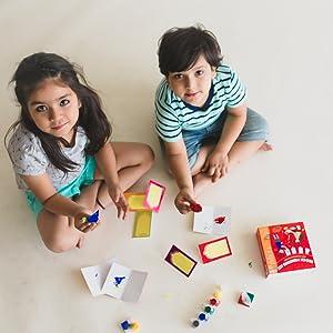 block printing kit, cocomoco kids, cocomoco