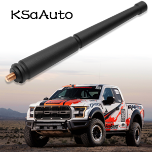 Will fit Any Ford F150 F150 Raptor 2009-2019 7.5 inch Flexible Rubber Antenna for Ford F150 2009-2019 Models