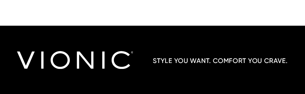 VIONIC Logo – Style You Want. Comfort You Crave.