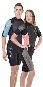 Seavenger shorty wetsuit 3 mm