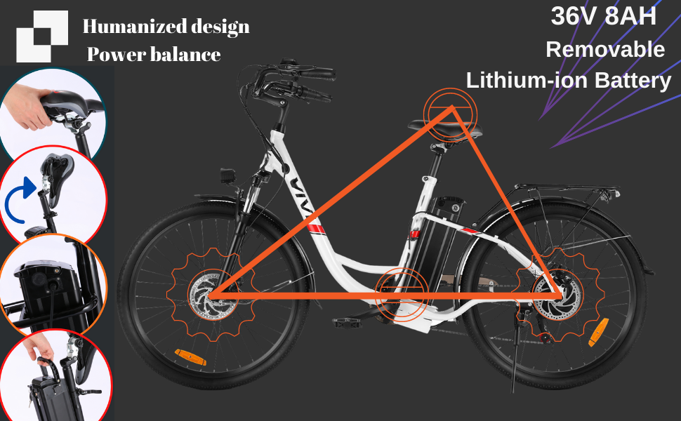 removable lithium-ion ebike battery