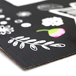 premium card corrugated photo frame