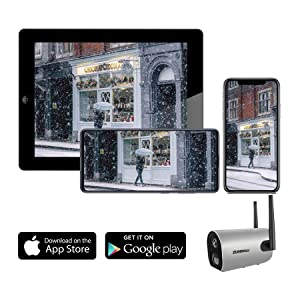 home security camera system wireless