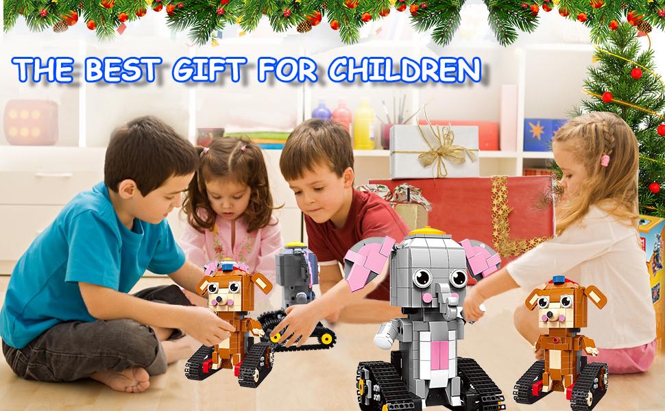 robot building kit for kids 6-12
