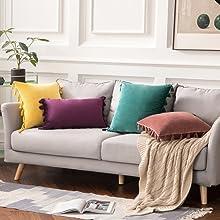 tassel boho beautiful pillow covers shams