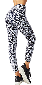 FITTIN Leopord Printed Yoga Leggings