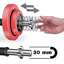 2in1 halterset, lange halter & korte halter, SPORTSTECH, halter, gewichten, krachttraining