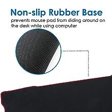 gaming mousepad mouse mat xl redgear mousepad